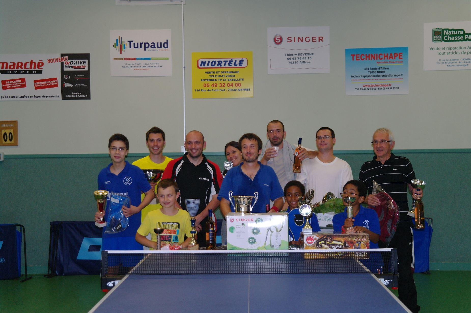 récompensés tournois d'été 2013